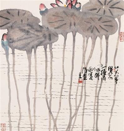 张浩作品 写意花鸟 (10)