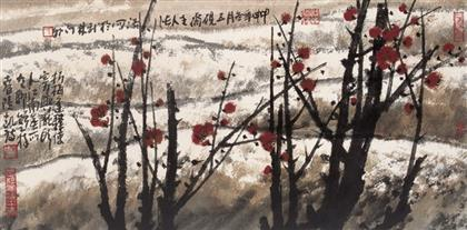 张浩作品 写意花鸟 (8)