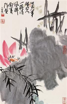张浩作品 写意花鸟 (11)
