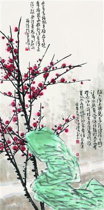 张浩作品 写意花鸟 (4)