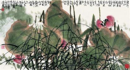 张浩作品 写意花鸟 (3)