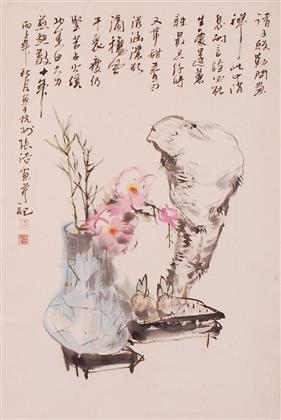 张浩作品 写意花鸟 (19)