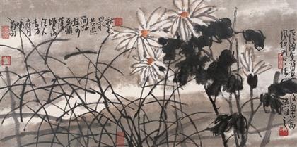 张浩作品 写意花鸟 (15)
