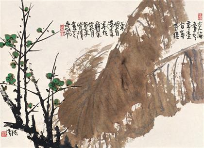 张浩作品 写意花鸟 (16)