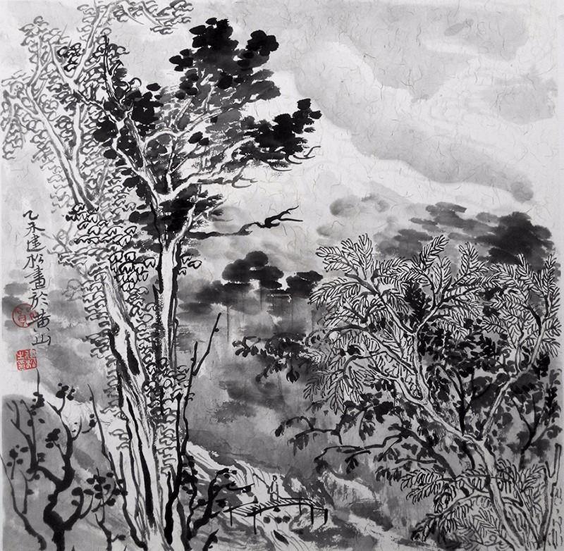 中国书画 国画 名家画 > 山水写生小品   编号:p20443 类别:名家画