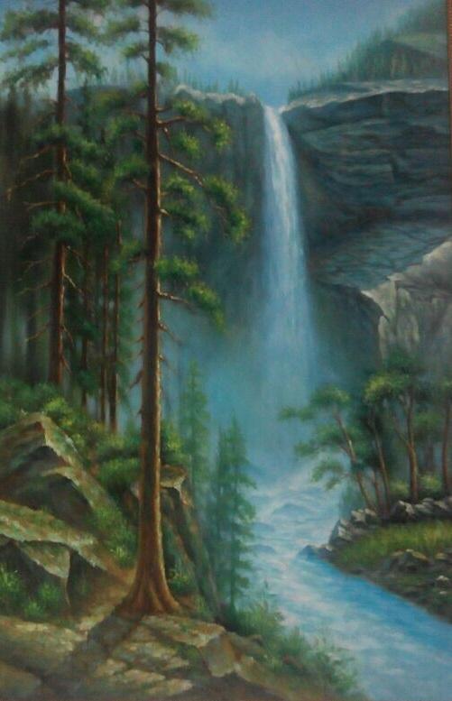泉州东西塔油画
