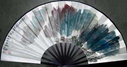 中国书画 国画 山水画 > 泼墨山水扇面   编号:p08079 类别:山水画