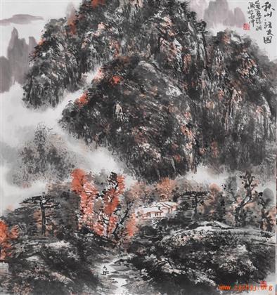 张羽国画 4