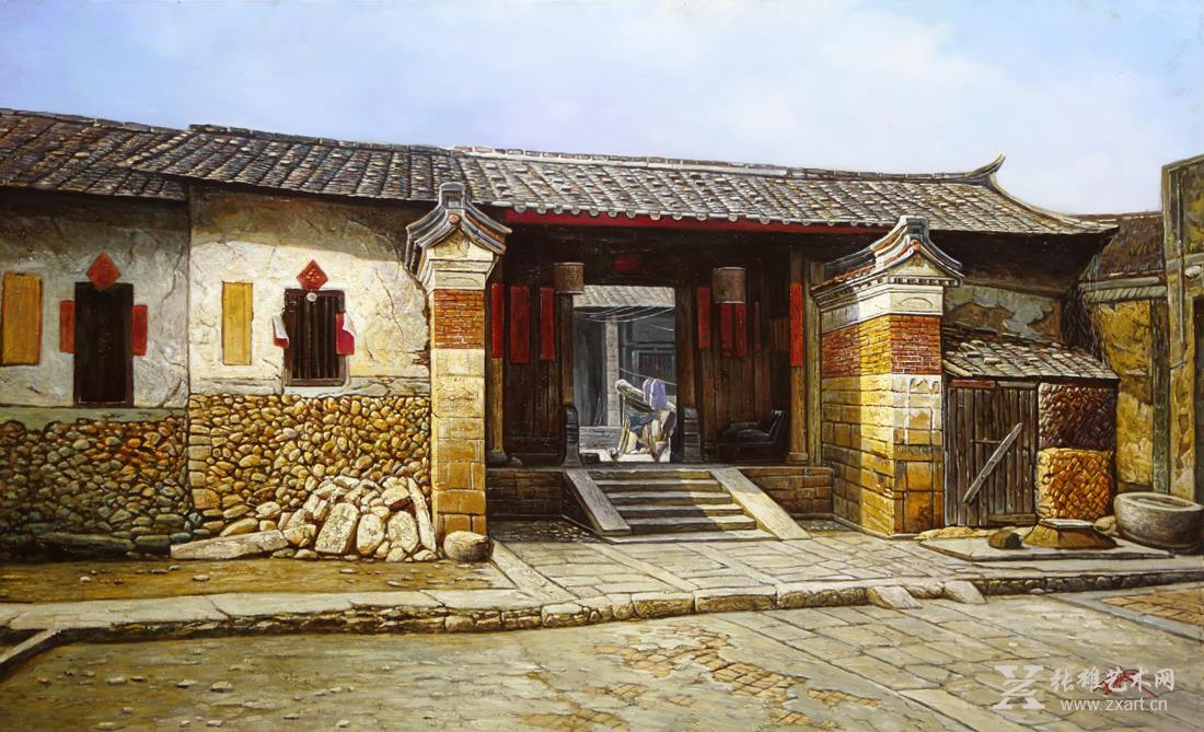 雕塑石雕 西画 油画风景 > 闽南代表性古居