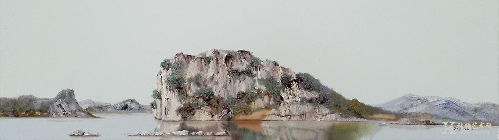 王多伦油画风景七