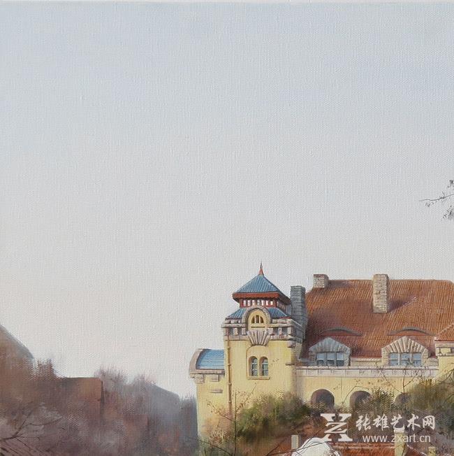 雕塑石雕 西画 油画风景 > 徐青峰油画作品四   •商品展示