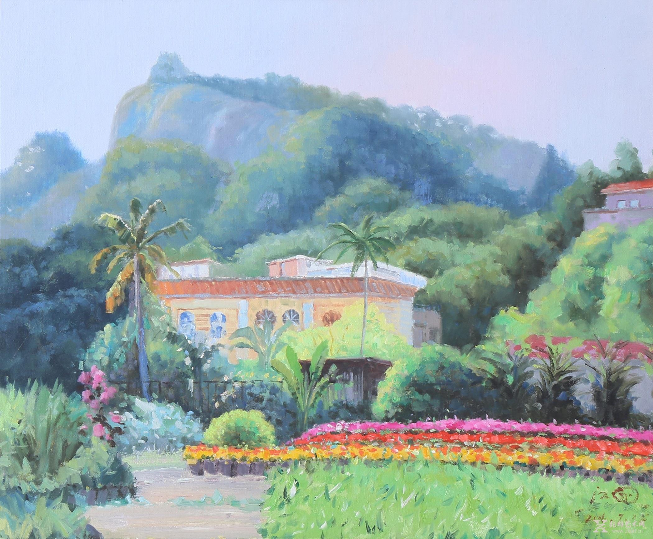 油画风景 > 《鼓浪之春》   •商品展示:   1967年生,祖籍福清,现